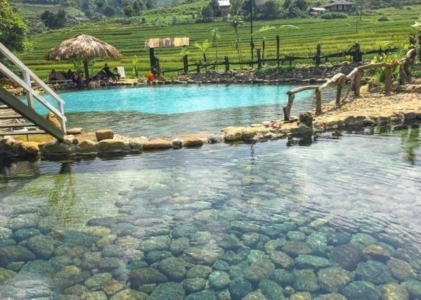 Tạm bỏ quên đời, thư giãn ở suối nước nóng đẹp quên lối về - hình ảnh 4