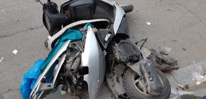 """""""Xe điên"""" gây tai nạn kinh hoàng trên đường Trần Phú chiều 28 Tết - hình ảnh 9"""