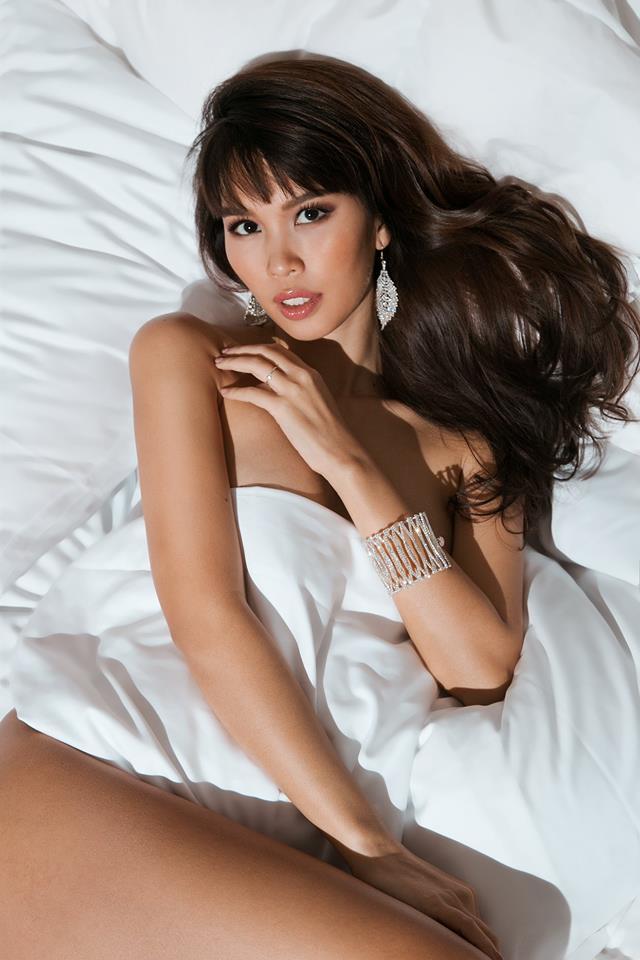 """Bầu 5 tháng, siêu mẫu Việt vẫn bán nude quá """"nóng"""" nhân Valentine! - hình ảnh 3"""