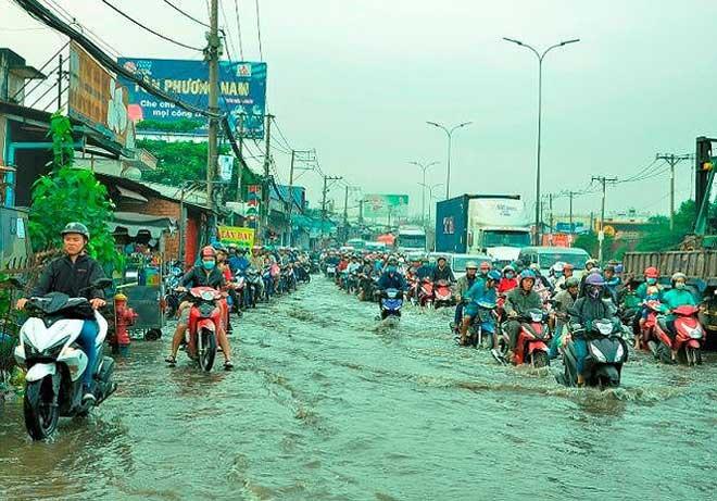 Sài Gòn có thể mưa, ngập vào dịp Tết - hình ảnh 1