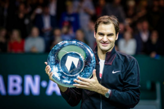 """Federer hạ Dimitrov: """"Thiên đường"""" thứ 97, triệu fan ngợi ca huyền thoại - 1"""