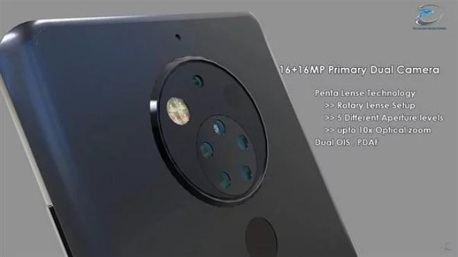 Ngắm Nokia 10 đẹp như mơ với 5 ống kính ở phía sau - 1