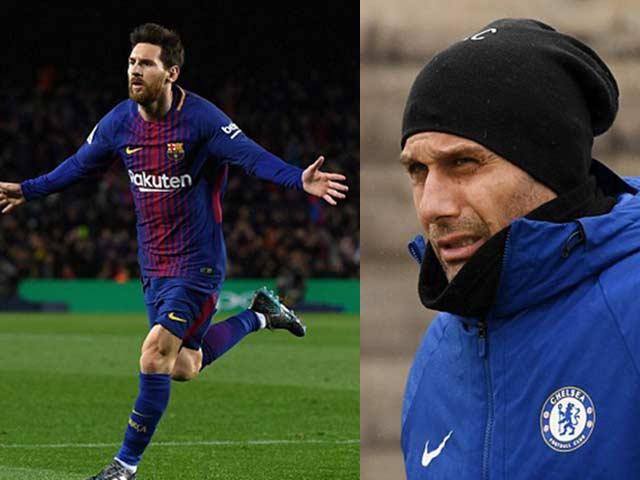 """Barca - Messi quá mạnh, Chelsea – Conte """"học lỏm"""" HLV Watford"""