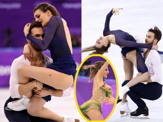 """Người đẹp hở trên lộ dưới: """"Đỏ mặt"""" ở Olympic mùa đông"""