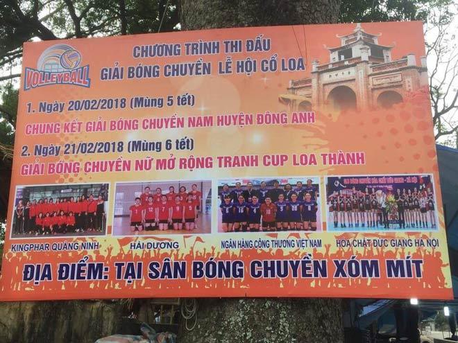 """Bóng chuyền nữ hội làng: """"Chân dài"""" Việt tưng bừng khai Xuân 2018 - 1"""