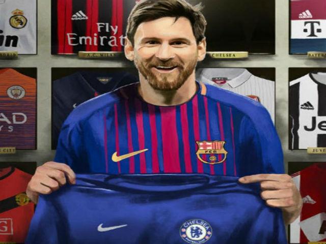 """Messi """"xé lưới"""" Chelsea phá lời nguyền: Triệu fan phong Đấng cứu thế"""