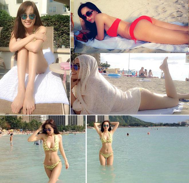 Mai Phương Thúy khoe lại ảnh bikini hot nhất trong suốt 11 năm làm hoa hậu - hình ảnh 5