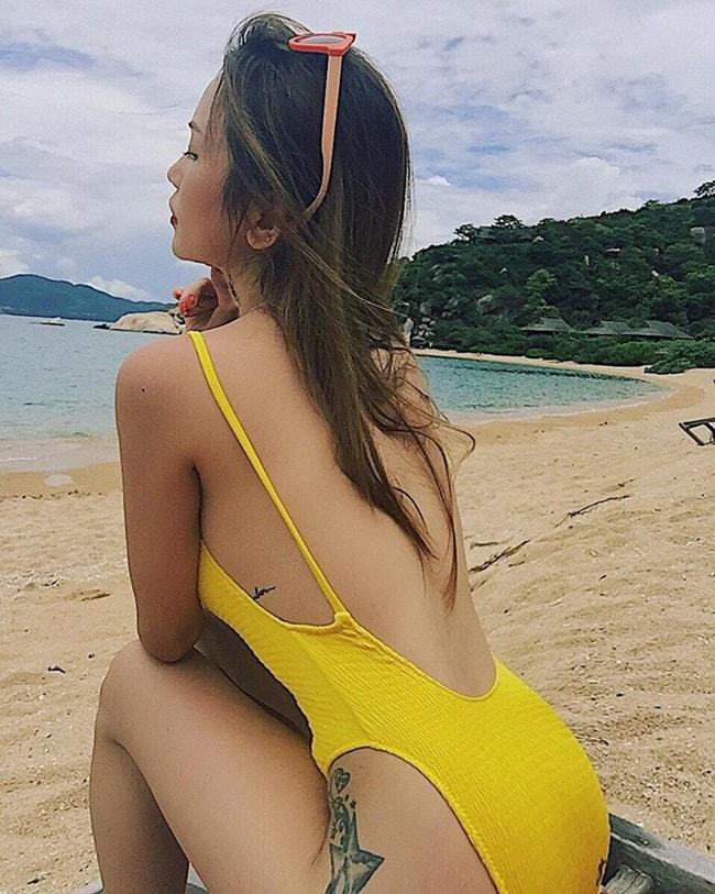 """Nhan sắc 10 phân vẹn 10 của 4 """"Nữ hoàng bikini"""" showbiz Việt - hình ảnh 5"""