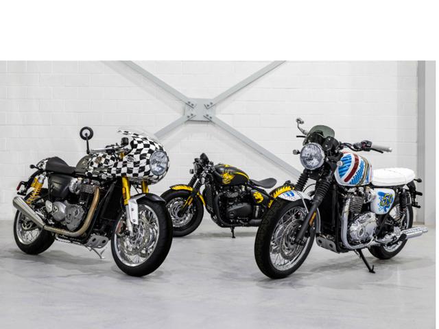 """Lạ mắt với """"bộ ba siêu đẳng"""" đến từ Triumph Motorcycles"""