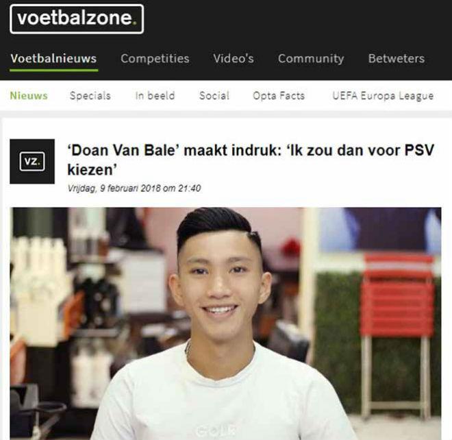 Đoàn Văn Hậu lên báo Hà Lan: Sao Việt nào chơi bóng ở châu Âu? - 1