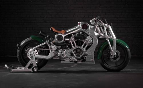 """Ngắm """"chiến cơ mặt đất"""", giá siêu khủng từ Curtiss Motorcycle - 1"""