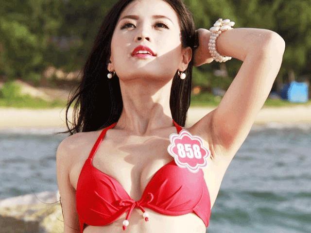 """""""Bạn gái Noo Phước Thịnh"""" gợi cảm nhất dàn á hậu VN làm biên tập viên VTV?"""