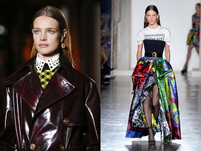 Vợ đẹp của tỷ phú Pháp kiêu hãnh mở màn show Versace