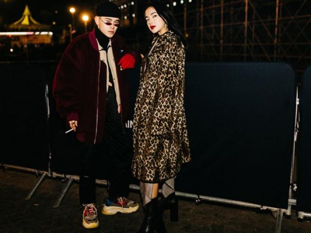 """Hot girl Hà thành Châu Bùi """"tầng tầng lớp lớp"""" áo quần tại Paris FW"""