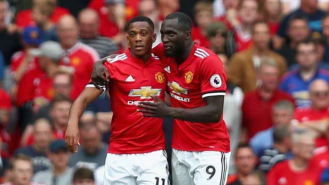 """MU tự hào: """"Song sát"""" Martial - Lukaku sánh ngang Ronaldo - Rooney vĩ đại - 1"""