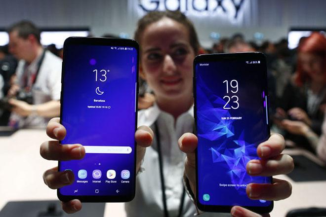 """Samsung Galaxy S9+ đoạt giải """"Thiết bị kết nối mới tốt nhất"""" tại MWC 2018 - 1"""