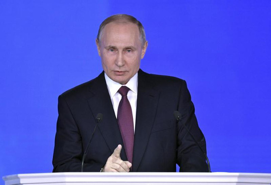 Lời nhắn gửi của ông Putin cho Washington - 1
