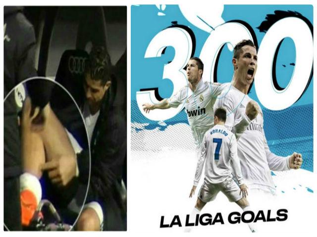 Ronaldo ghi 300 bàn Liga nhanh hơn Messi, nguy cơ lỡ đại chiến PSG