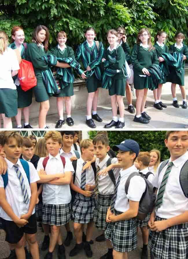 Khám phá đồng phục học sinh của các quốc gia trên thế giới - 2