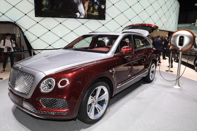 Bentley ra mắt bộ sạc điện dành riêng cho Bentayga Hybrid - 1