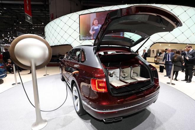 Bentley ra mắt bộ sạc điện dành riêng cho Bentayga Hybrid - 5