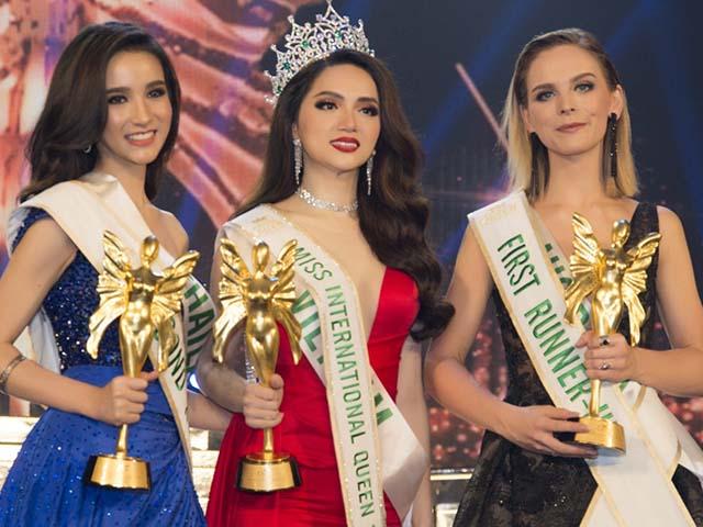 Hương Giang Idol đăng quang Hoa hậu Chuyển giới Quốc tế HOT nhất tuần