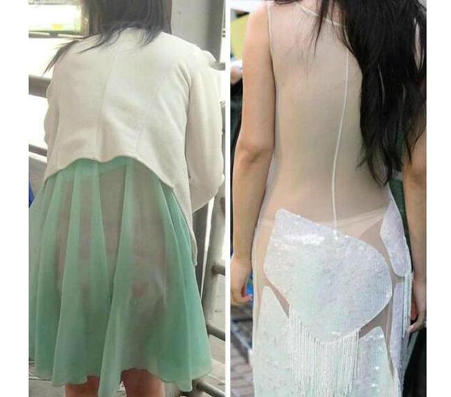 Váy áo mỏng tang, siêu ngắn gây đỏ mặt của con gái Trung Quốc - hình ảnh 16