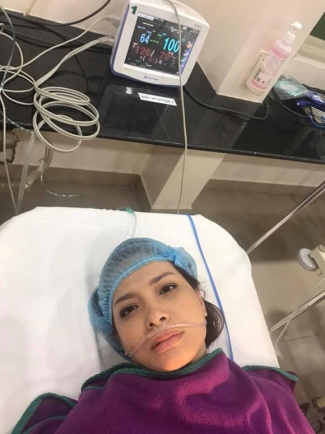 Thúy Hạnh nhập viện mổ cấp cứu sau hai tháng cắt bỏ tử cung - hình ảnh 2