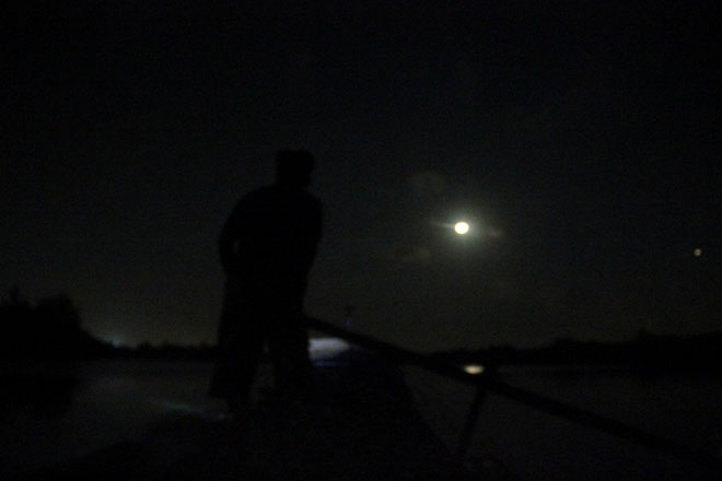 """Theo chân thợ săn cá """"khủng"""", từng 2 lần được lộc trời ban ở Sài Gòn - hình ảnh 12"""