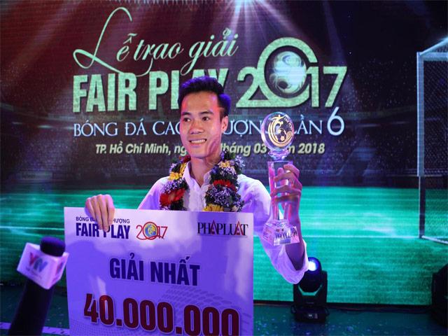 Văn Toàn & U23 Việt Nam được vinh danh giải Fair Play