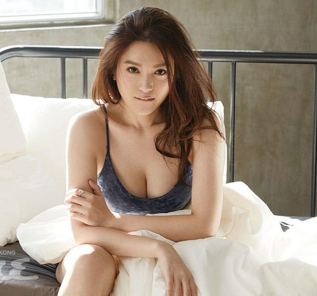 """Vẻ sexy tuyệt đối của 5 hoa á hậu Hồng Kông mở """"tiệc trinh nữ"""" công khai - hình ảnh 10"""