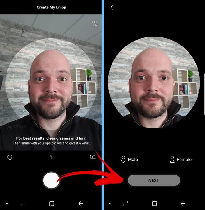 Cách tạo và sử dụng ảnh động AR Emoji cực thú vị trên Galaxy S9-Công