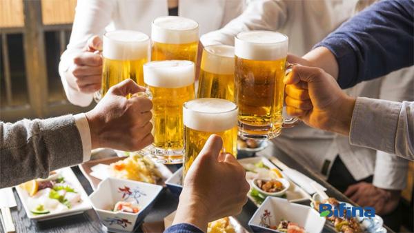 Học người Nhật cách uống rượu bia không lo viêm đại tràng - 1
