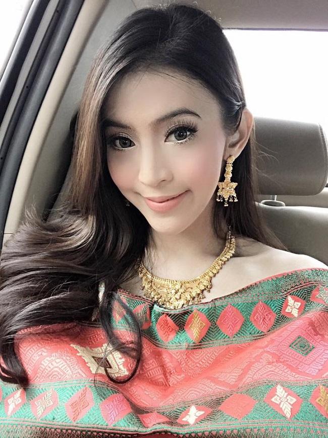 Ngỡ ngàng trước nhan sắc xinh như mộng của con gái Lào ngày nay - hình ảnh 2