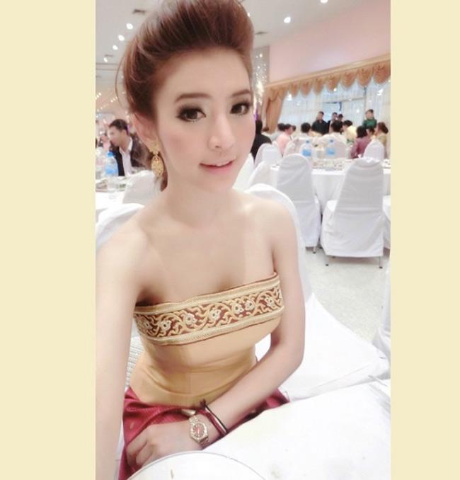 Ngỡ ngàng trước nhan sắc xinh như mộng của con gái Lào ngày nay - hình ảnh 4