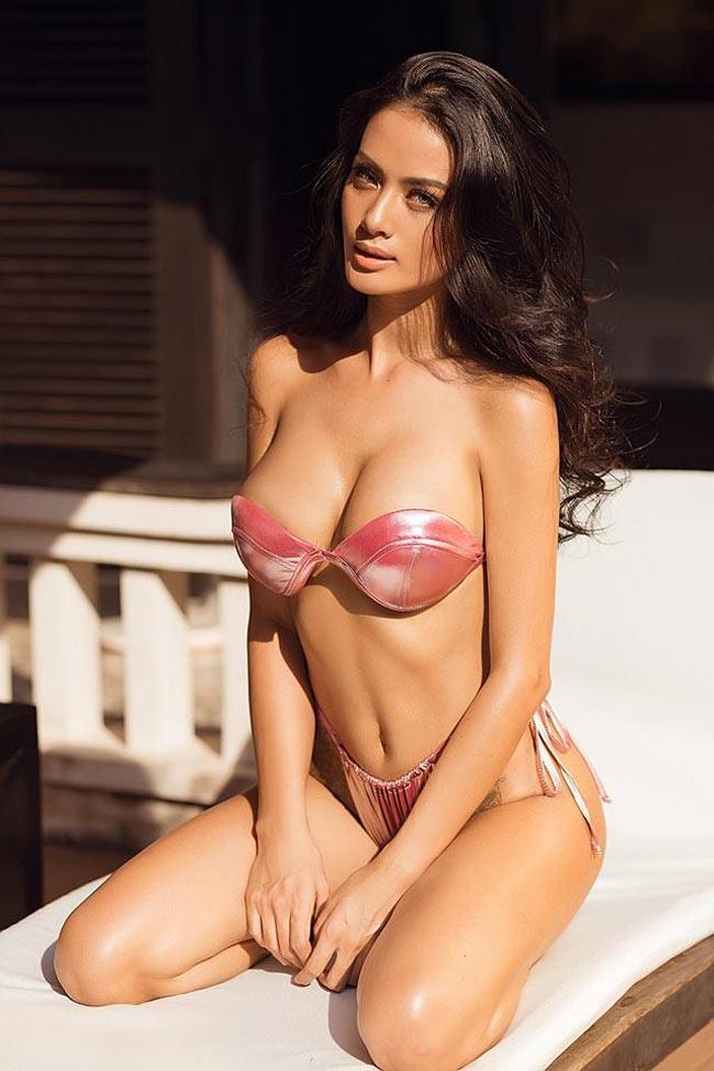 """2 lần sinh nở nhưng người mẫu Đà Lạt vẫn xứng là """"nữ thần bikini"""" - hình ảnh 5"""