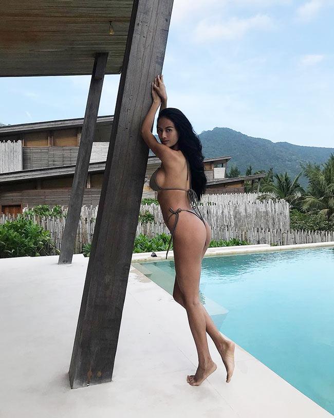 """2 lần sinh nở nhưng người mẫu Đà Lạt vẫn xứng là """"nữ thần bikini"""" - hình ảnh 8"""