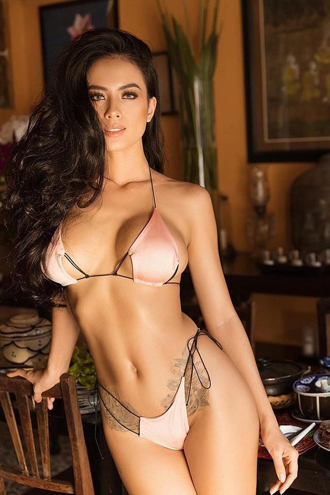 """2 lần sinh nở nhưng người mẫu Đà Lạt vẫn xứng là """"nữ thần bikini"""" - hình ảnh 6"""