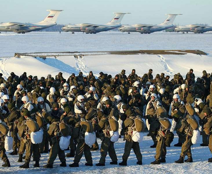 """Lực lượng xe tăng Nga """"từ trên trời lao xuống"""" - 2"""