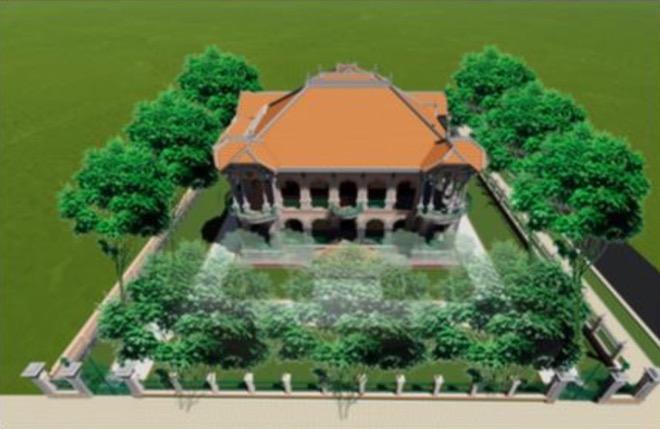 Lộ diện hình hài biệt thự cổ 35 triệu USD ở Sài Gòn sau trùng tu - 3