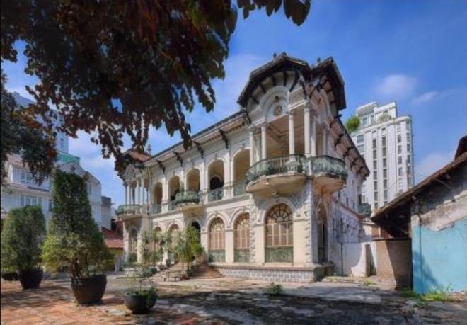 Lộ diện hình hài biệt thự cổ 35 triệu USD ở Sài Gòn sau trùng tu - 2