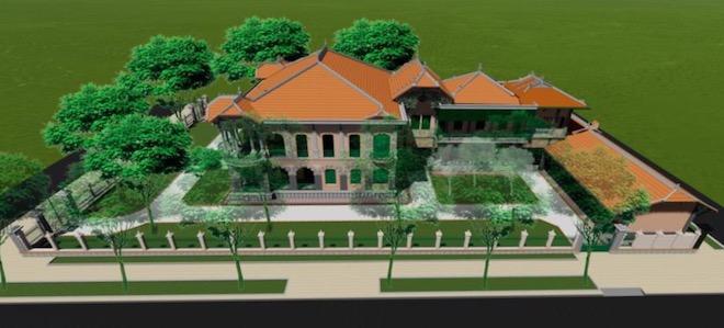 Lộ diện hình hài biệt thự cổ 35 triệu USD ở Sài Gòn sau trùng tu - 7
