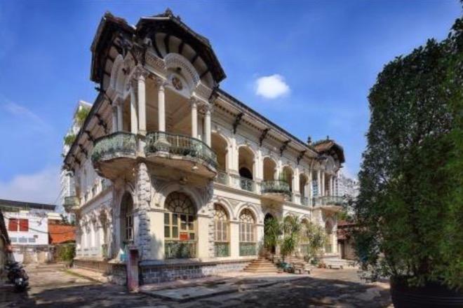 Lộ diện hình hài biệt thự cổ 35 triệu USD ở Sài Gòn sau trùng tu - 11