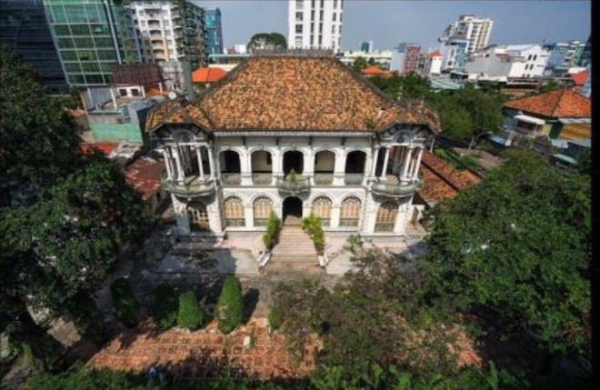 Lộ diện hình hài biệt thự cổ 35 triệu USD ở Sài Gòn sau trùng tu - 4