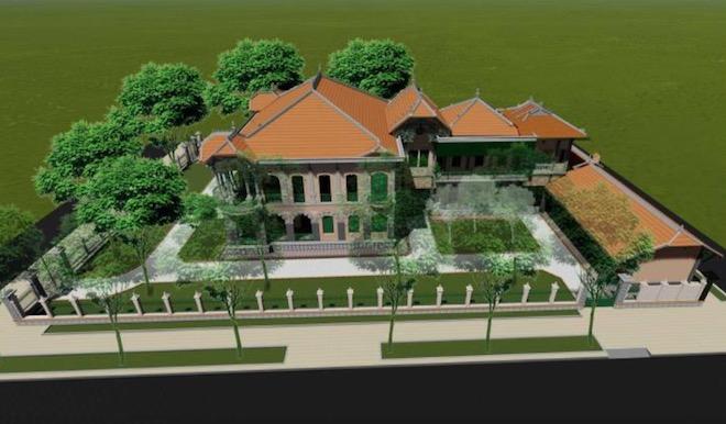 Lộ diện hình hài biệt thự cổ 35 triệu USD ở Sài Gòn sau trùng tu - 9
