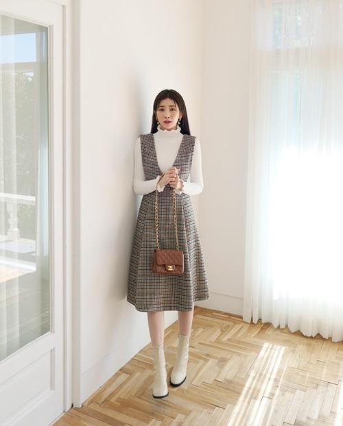 5 kiểu mặc layer với áo len để nàng công sở vừa ấm vừa xinh - 5