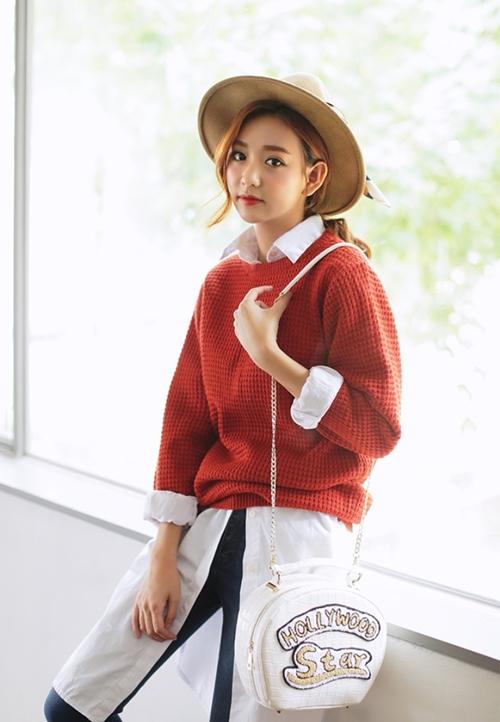 5 kiểu mặc layer với áo len để nàng công sở vừa ấm vừa xinh - 3
