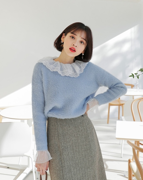 5 kiểu mặc layer với áo len để nàng công sở vừa ấm vừa xinh - 4