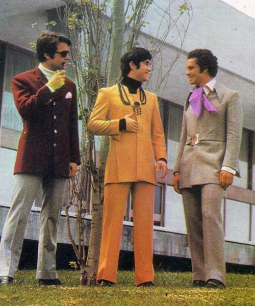 Tá hỏa với thời trang của các anh thập niên 70 - 9