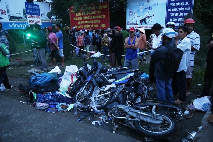 Tai nạn thảm khốc ở Long An: Tài xế container dương tính với ma túy - 2